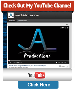 joseph allan lawrence youtube tutorials